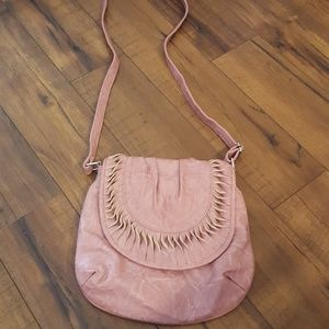 MMS - Distressed Mauve Crossbody